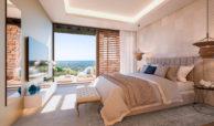 be lagom moderne villa kopen marbella benahavis zeezicht nieuwbouw slaapkamer