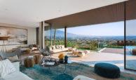 be lagom moderne villa kopen marbella benahavis zeezicht nieuwbouw terras