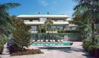 celeste marbella nueva andalucia costa del sol spanje nieuwbouw te koop appartement penthouse puerto banus wandelafstand villa design