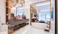 celeste marbella nueva andalucia costa del sol spanje nieuwbouw te koop appartement penthouse puerto banus wandelafstand villa master badkamer