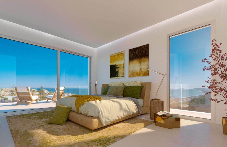 eden mijas te koop townhouses zeezicht wandelafstand strand slaapkamer 2