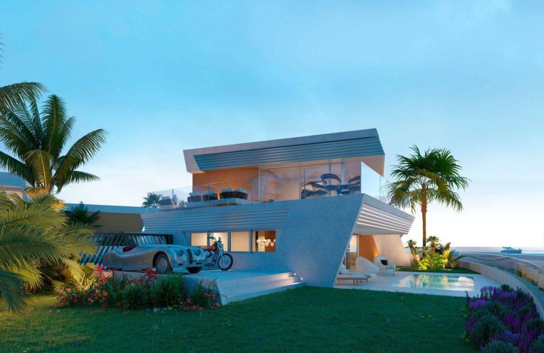 eden mijas te koop townhouses zeezicht wandelafstand strand tuin