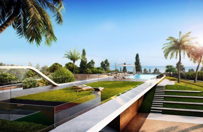 eden mijas te koop townhouses zeezicht wandelafstand strand zwembad tuin