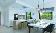 oasis 22 new golden mile marbella estepona costa del sol huis te koop nieuwbouw eethoek