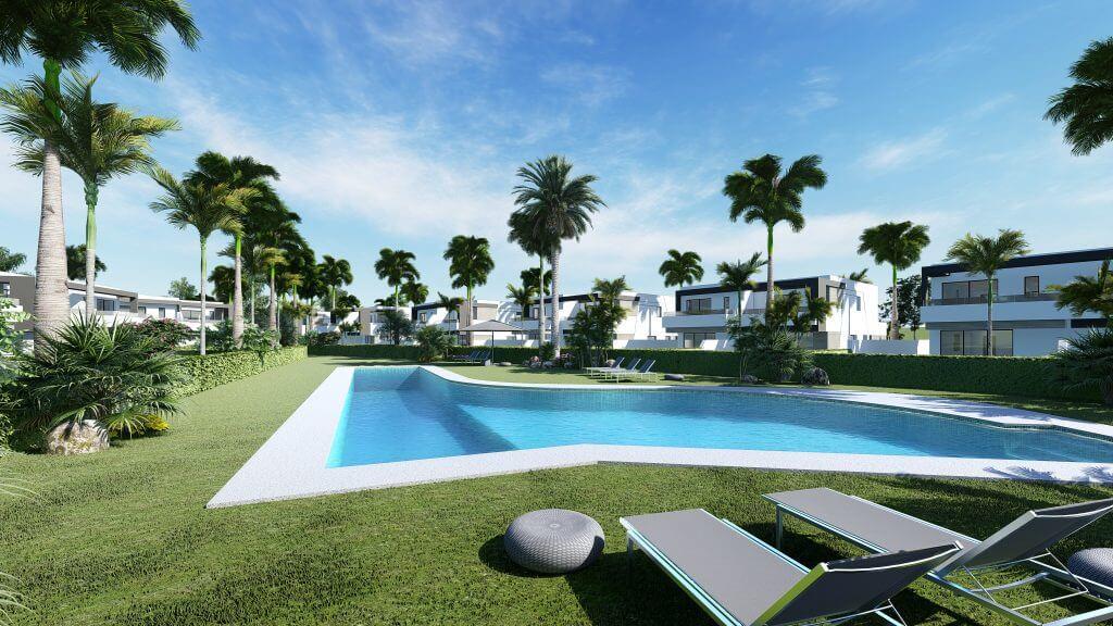 oasis 22 new golden mile marbella estepona costa del sol huis te koop nieuwbouw gemeenschappelijk zwembad