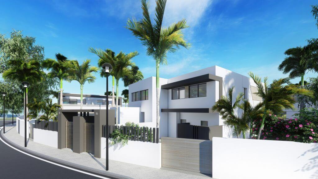 oasis 22 new golden mile marbella estepona costa del sol huis te koop nieuwbouw omheind