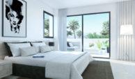 oasis 22 new golden mile marbella estepona costa del sol huis te koop nieuwbouw slaapkamer