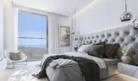 one residences te koop zeezicht moderne neiwubouw la cals de mijas slaapkamer