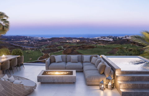 One Residences: frontline golf penthouses in La Cala de Mijas
