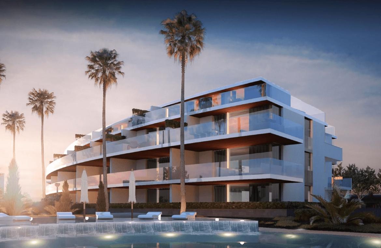 one residences te koop zeezicht moderne neiwubouw la cals de mijas vooraanzicht