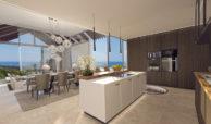 resina heights villa zeezicht golf estepona new golden mile keuken