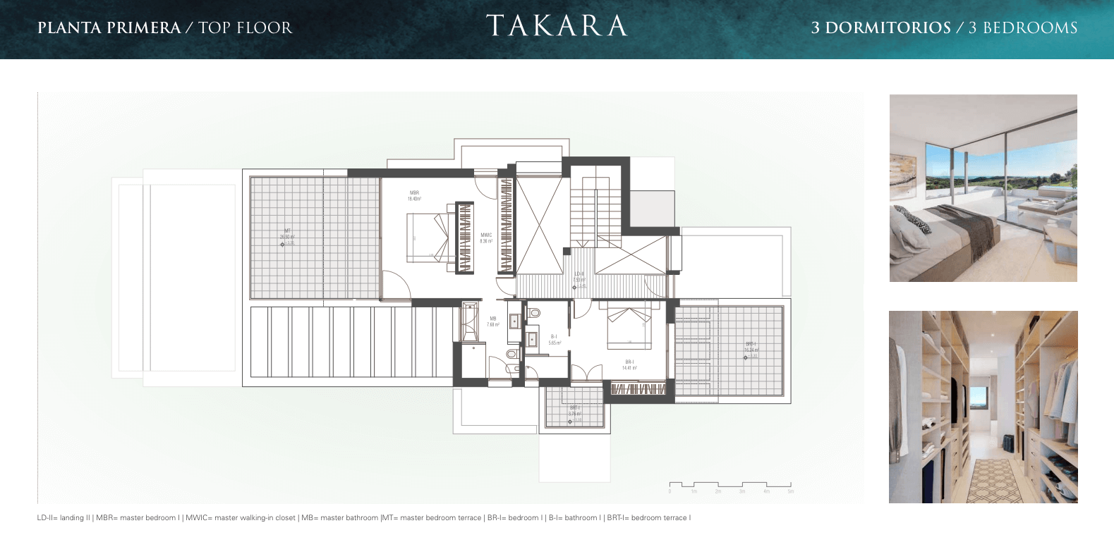 takara moderne villa te koop estepona golf zeezicht verdieping plan