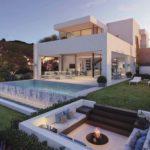 takara moderne villa te koop estepona golf zeezicht fire pit