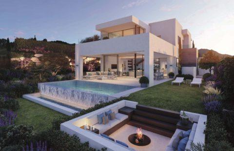 Takara, modern villa project met zeezicht gelegen aan de golf