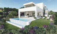 takara moderne villa te koop estepona golf zeezicht tuin