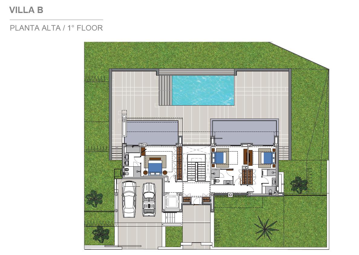 costa del sol marbella estepona nieuwbouw modern plan villa B