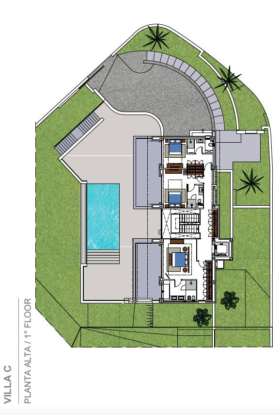 costa del sol marbella estepona nieuwbouw modern plan villa C