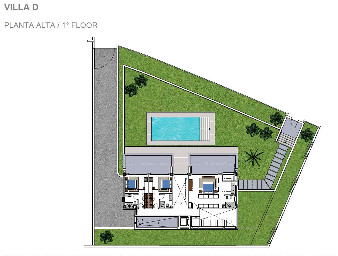 costa del sol marbella estepona nieuwbouw modern plan villa D