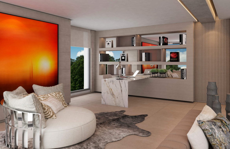 light blue villa kopen costa del sol marbella estepona nieuwbouw modern bureau
