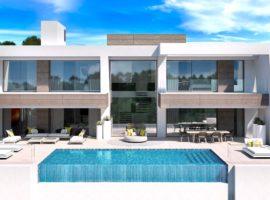 light blue villa kopen costa del sol marbella estepona nieuwbouw modern design