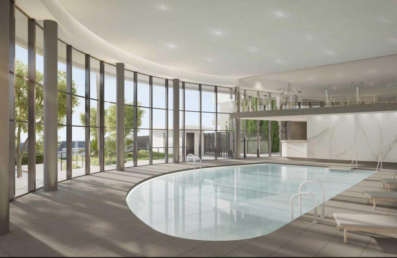 mesas homes prime invest estepona zeezicht nieuwbouw appartement te koop modern binnenzwembad