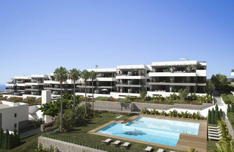 mesas homes prime invest estepona zeezicht nieuwbouw appartement te koop modern complex