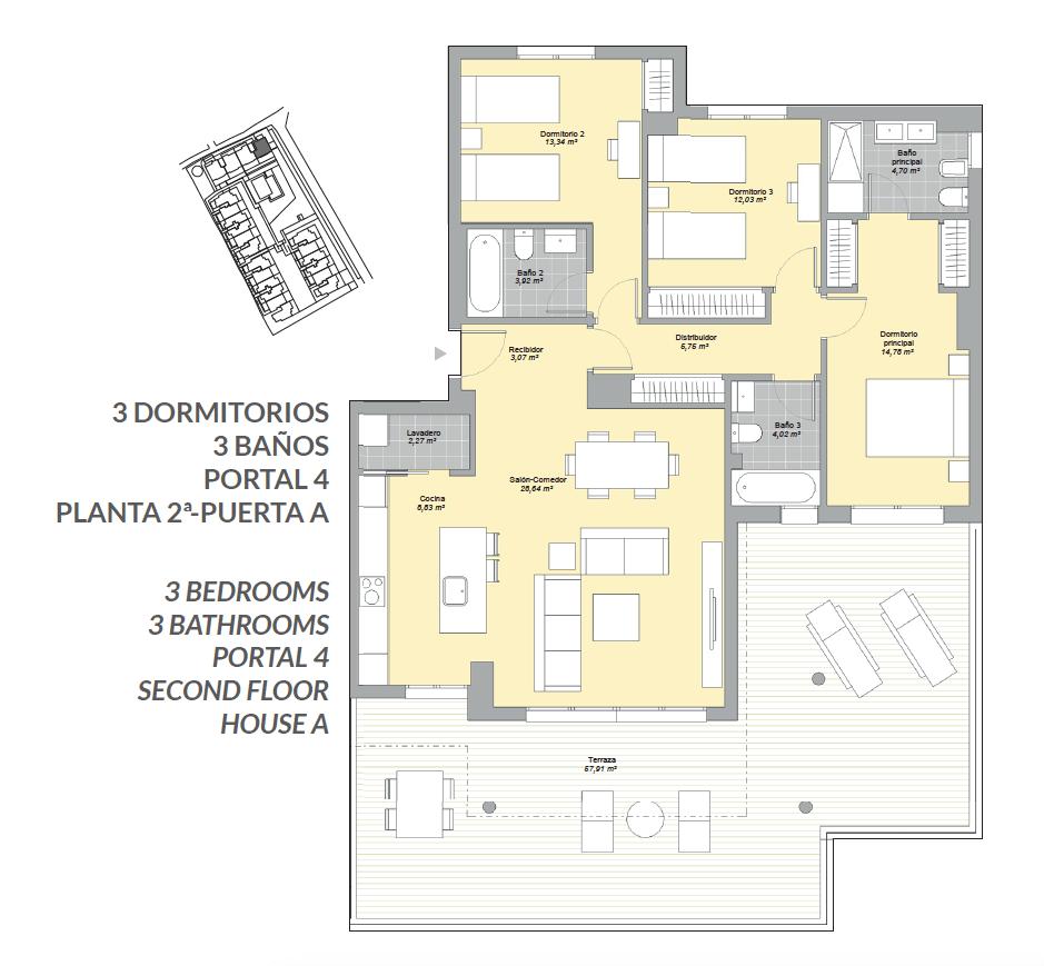 mesas homes prime invest estepona zeezicht nieuwbouw appartement te koop modern grondplan 2 slaapkamers