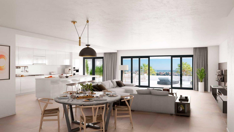 Keuken Nieuwbouw Open : Mesas homes: modern nieuwbouw appartement met zeezicht estepona