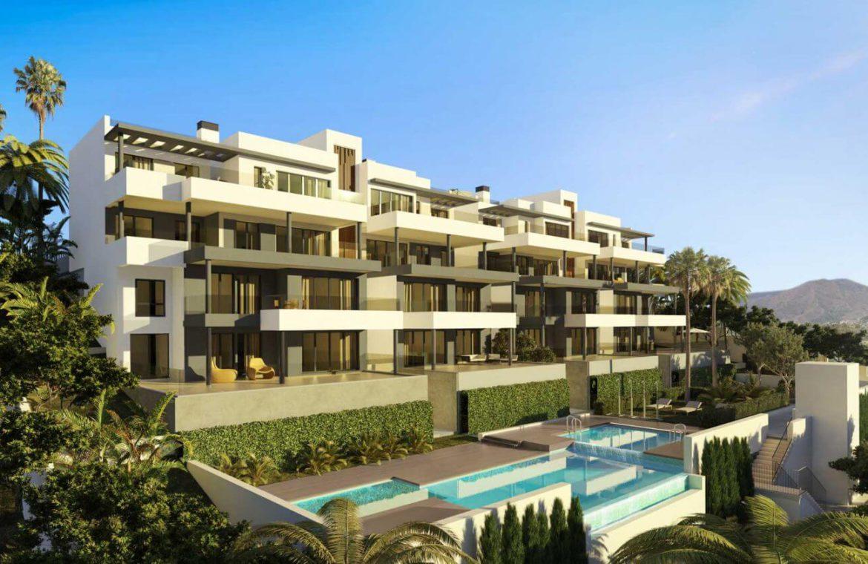 mesas homes prime invest estepona zeezicht nieuwbouw appartement te koop modern project