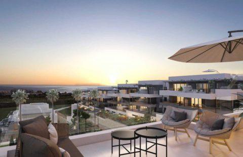 Mesas Homes: modern nieuwbouw appartement met zeezicht (Estepona)