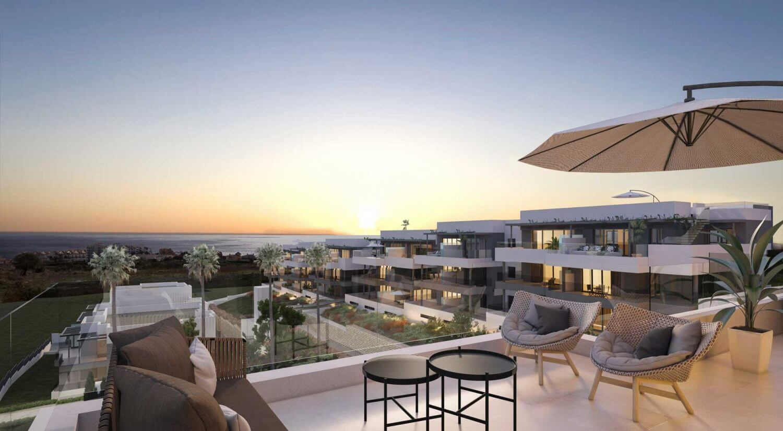 mesas homes prime invest estepona zeezicht nieuwbouw appartement te koop modern terras