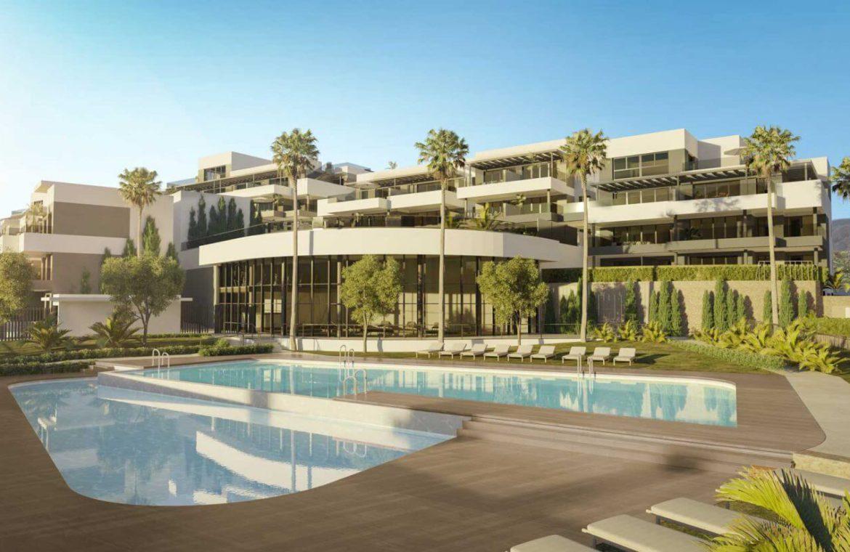 mesas homes prime invest estepona zeezicht nieuwbouw appartement te koop modern zwembad