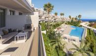 oceana collection cancelada estepona modern nieuwbouw huis te koop zeezicht solarium gemeenschappelijk zwembad