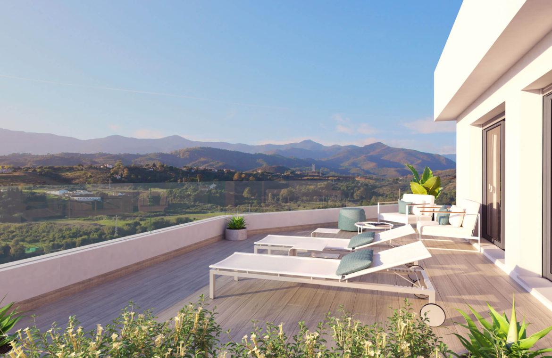 oceana gardens new golden mile estepona cancelada nieuwbouw appartement te koop wandelafstand zeezicht golf goedkoop