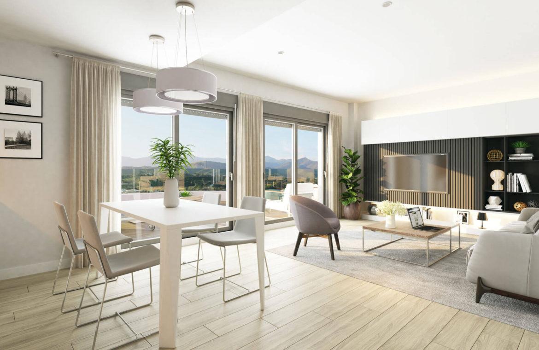 oceana gardens new golden mile estepona cancelada nieuwbouw appartement te koop wandelafstand zeezicht golf goedkoop salon