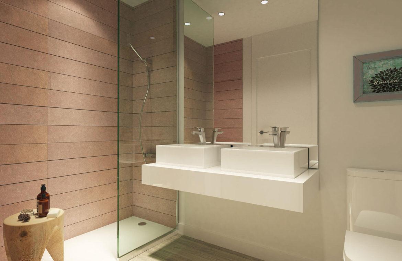 oceana gardens new golden mile estepona cancelada nieuwbouw huis te koop wandelafstand zeezicht golf goedkoop badkamer