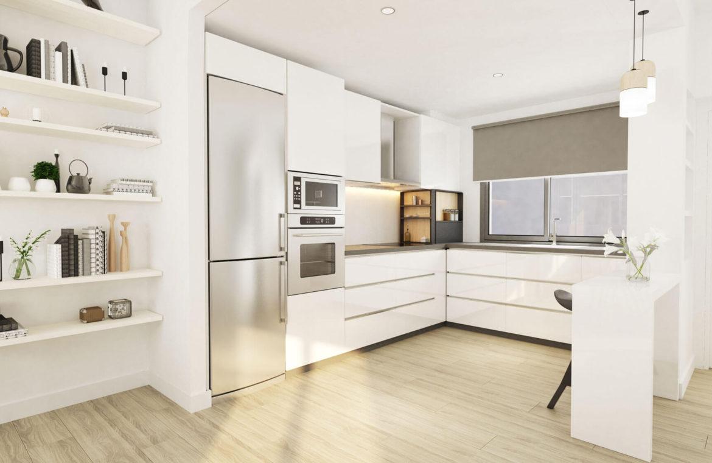 oceana gardens new golden mile estepona cancelada nieuwbouw huis te koop wandelafstand zeezicht golf goedkoop keuken
