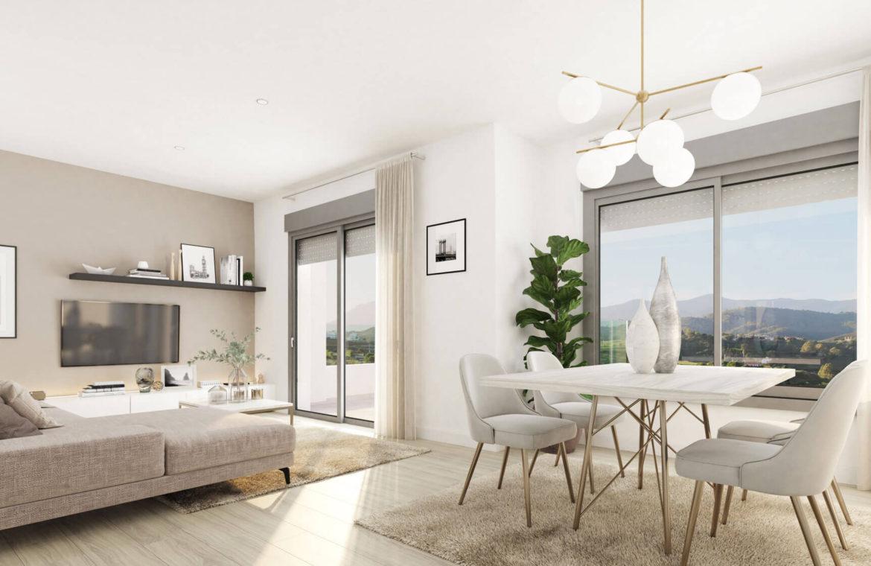 oceana gardens new golden mile estepona cancelada nieuwbouw huis te koop wandelafstand zeezicht golf goedkoop leefruimte