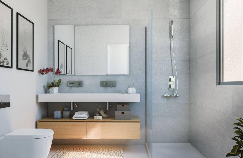 artola homes cabopino costa del sol eerstelijns golf appartement penthouse te koop nieuwbouw zee badkamer