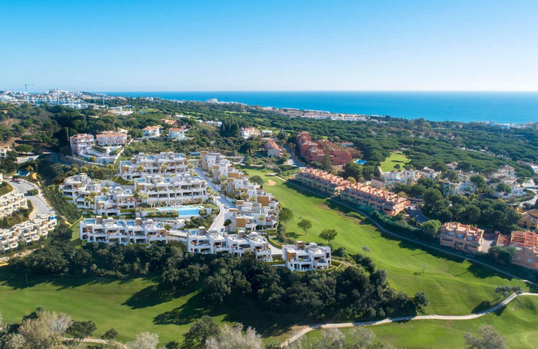 artola homes cabopino costa del sol eerstelijns golf appartement penthouse te koop nieuwbouw zee locatie