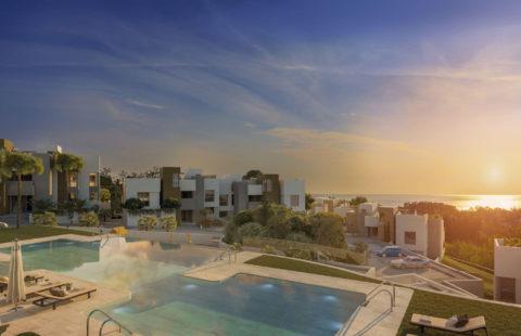 Artola Homes: moderne eerstelijns golf appartementen (Cabopino)