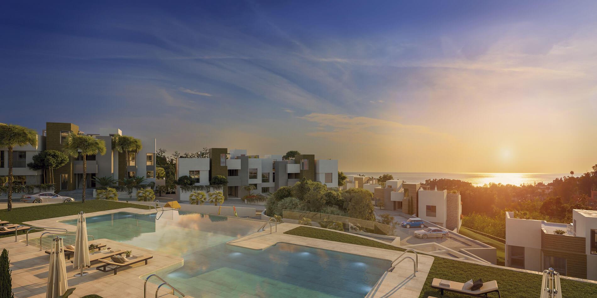 artola homes cabopino costa del sol eerstelijns golf appartement penthouse te koop nieuwbouw zee panoramisch zicht