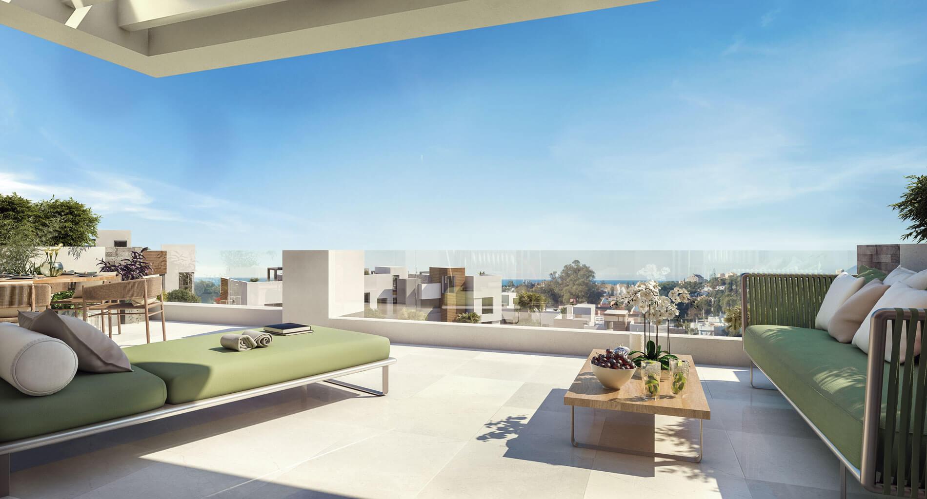 artola homes cabopino costa del sol eerstelijns golf appartement penthouse te koop nieuwbouw zee zicht