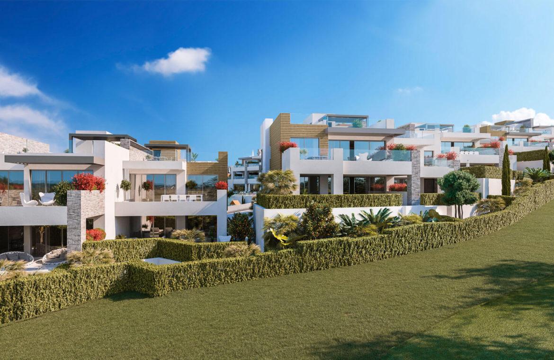 artola homes cabopino costa del sol eerstelijns golf appartement penthouse te koop nieuwbouw zeezicht