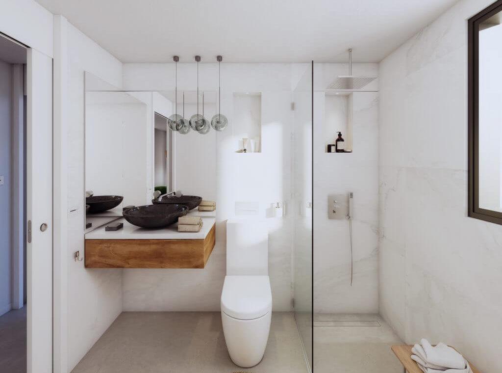 le blanc marbella sierra blanca exclusief spanje design villa te koop luxe badkamer