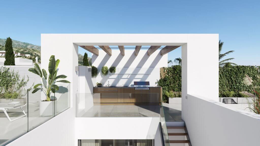 le blanc marbella sierra blanca exclusief spanje design villa te koop luxe buitenkeuken