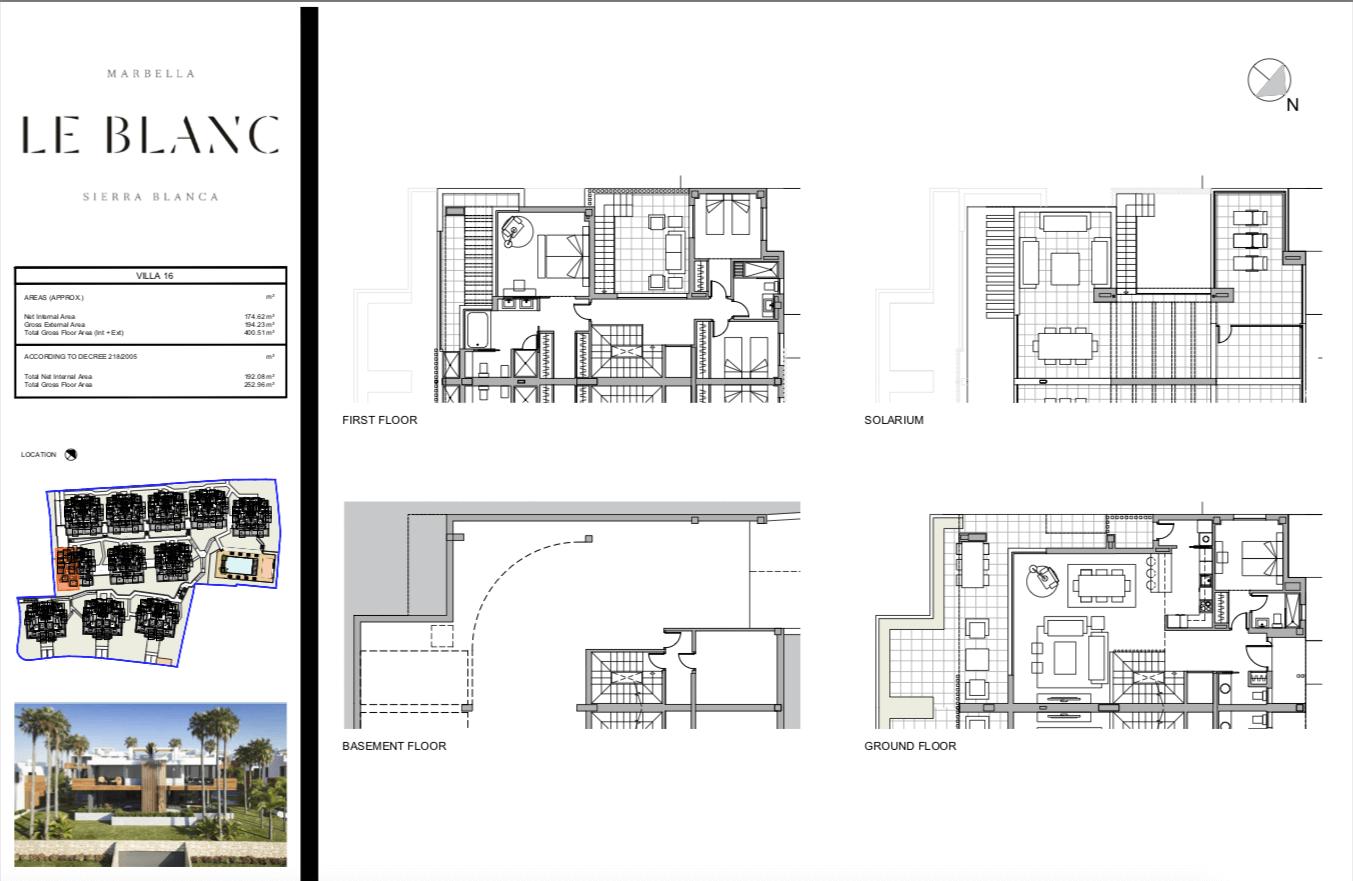 le blanc marbella sierra blanca exclusief spanje design villa te koop luxe grondplan2