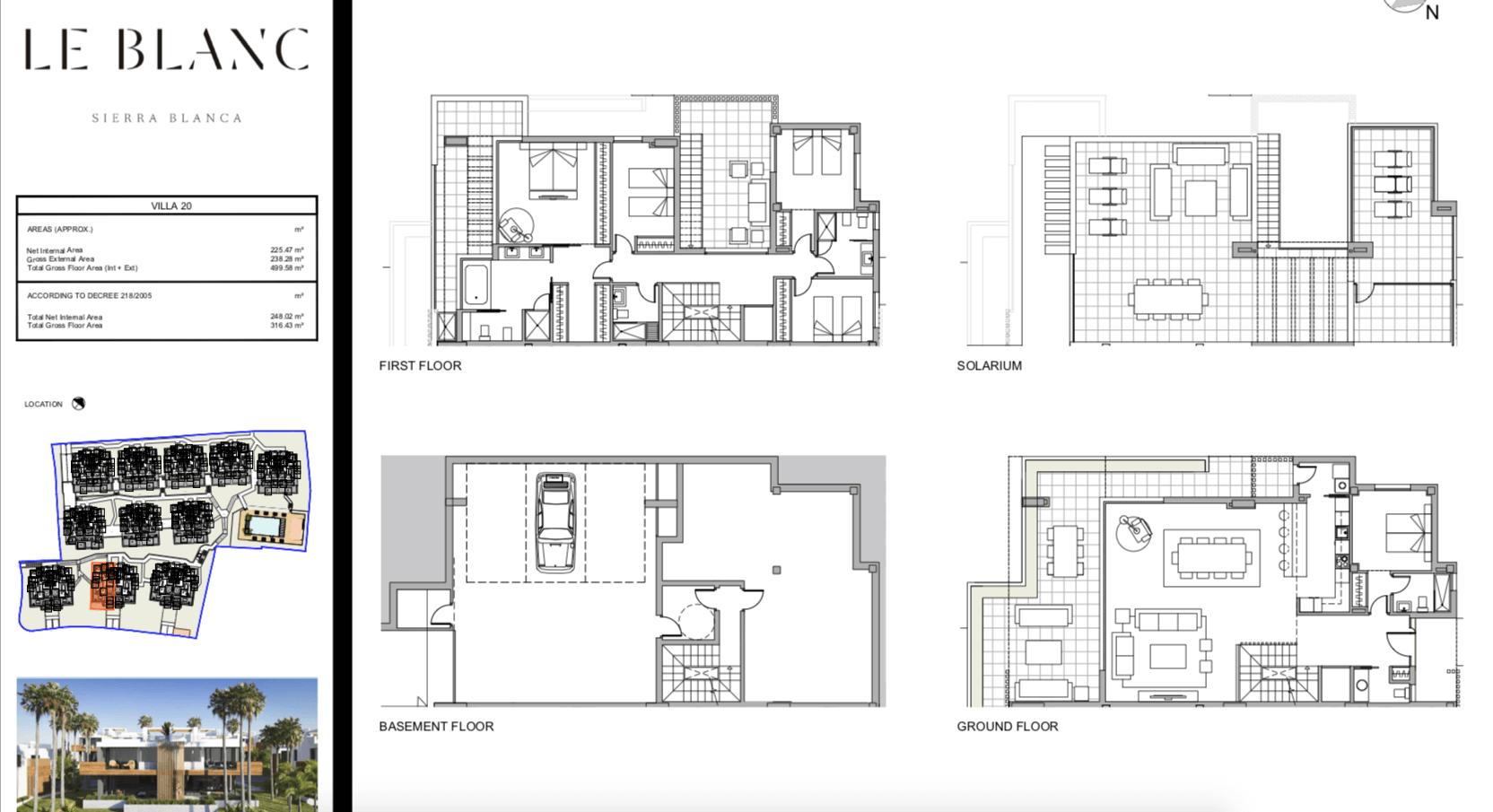 le blanc marbella sierra blanca exclusief spanje design villa te koop luxe grondplan3