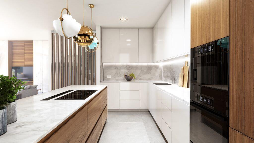le blanc marbella sierra blanca exclusief spanje design villa te koop luxe keuken