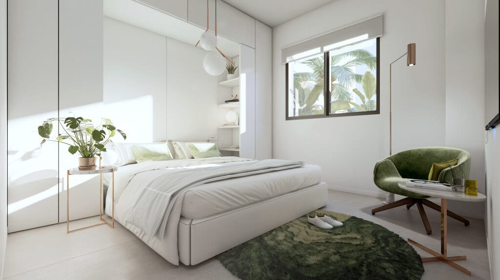 le blanc marbella sierra blanca exclusief spanje design villa te koop luxe slaapkamer